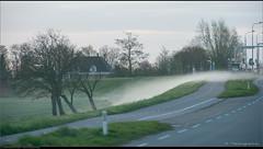 Creepy fog (Peterbijkerk.eu Photography) Tags: mist fog sunrise nederland nl noordholland drivebyshooting schermerhorn zonsopkomst peterbijkerkeu