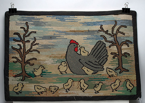 Hooked Rug - $132.00 (Sold May 22, 2015)
