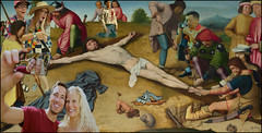 Happy Easter (laluzdivinadetusojos) Tags: vacation art wonderful easter death photo christ cross palestine jerusalem jesus egg tourist recording holydays rabit selfie pasion