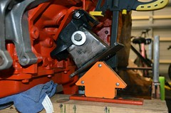 Driver's Side Mocked-up (john.and.kath) Tags: chevrolet conversion welding engine mount swap impala ls 1965 pedestal fabrication 60l l98 jrd ls2 l76