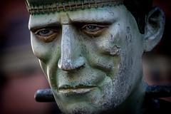 Welcome to the Horror Hotel (hehaden) Tags: face statue closeup sussex model brighton frankenstein bolt brightonpier palacepier horrorhotel