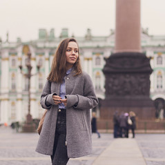 (BrylDarya) Tags: street city portrait people color art girl beauty st work model hands shoot photoshoot russia style petersburg russian stylish
