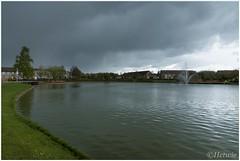 vijver wijkpark Brouwhuis (HP010430) (Hetwie) Tags: water pond vijver wijkpark brouwhuis