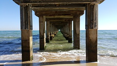 Dromana Pier (Ross Major) Tags: beach bay pier waves samsung australia victoria shore dromana galaxys6