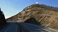 Sideling Hill (wide) (tim.perdue) Tags: road highway hill strata feature cutaway sideling geological