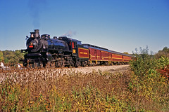 Resting at Jewett (craigsanders429) Tags: steamtrain steamtrains passengertrains steamlocomotives passengercars excursiontrain ohiocentralrailroad excursiontrains ohiocentral1293 ohiocentralsystem steamexcursions canadianpacific1293 jewettohio