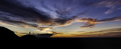 Foreground interest (explored 02/05/16) (MarkWaidson) Tags: sunset sky colour silhouette clouds photographer hills malvern worcestershire ironage hillfort britishcamp