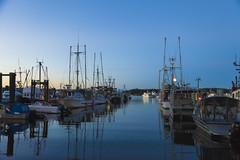 Sunset in the Boat Basin (John F. Anderson) Tags: boats waterfront seawall nanaimoboatbasin