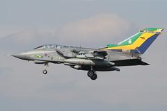 (scobie56) Tags: force air tail royal 2006 special 13 tornado markings raf leuchars squadron panavia gr4 marham za401