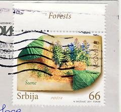 Serbien (postcardlady1) Tags: stamp briefmarke