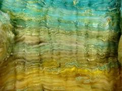 Sun, Surf & Sand Wild Card Bling Batt (yarnwench) Tags: felting spinning batt yarnwench artbatt