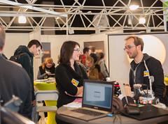 SalonSIEP-M+®tiers du Spacial-26 (cdsunamur) Tags: robot stand université salon sciences espace savoir siep visites métiers unamur henallux