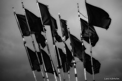 (Lars Karholm) Tags: blackandwhite bw blackwhite chair flag lars krholm karholm