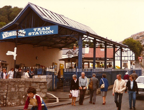 Great Orme Tramway Victoria Station 1981