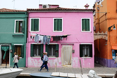 Burano : Rose (http://visiteursdumonde.com) Tags: venice venise venezia burano
