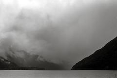 Rain approaching (that analogue guy) Tags: lakecrescent washington nikon kodak trix 11 d76 400 olympics fm nikkorh28mmf35 rainiscomingsoon