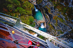 In the Alps (Marina Bedikyan) Tags: mountains alps forest river germany bavaria waterfall europe aerial neuschwanstein hohenschwangau
