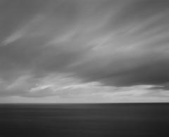 Blown Away (GrisFroid) Tags: ocean longexposure sea bw seascape 120 mamiya film water monochrome ilford rz67