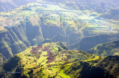 Down Below (pietkagab) Tags: africa trip travel mountains trekking trek photography pentax hiking hike adventure valley ethiopia k5 simien amhara pentaxk5ii pietkagab piotrgaborek