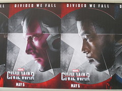 Captain America Civil War Sidewalk Billboard 2016 ADs 8158 (Brechtbug) Tags: world street new york city nyc chris winter two 3 america ads movie subway poster soldier book three evans war theater comic sam sebastian theatre near steve entrance super joe ironman tony billboard lobby stan sidewalk v civil ii ave captain hero falcon anthony billboards wilson shield vs rogers marvel stark 7th barnes bucky russo the 2016 36th standee 04142016