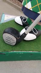 Good Golf, Charlie Brown (Sonomabuzz) Tags: california golf peanuts sonomacounty charliebrown santarosa