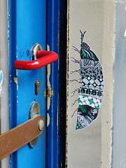 Pol Cosmo / Struifstraat - 13 apr 2016 (Ferdinand 'Ferre' Feys) Tags: streetart pasteup graffiti belgium belgique wheatpaste belgië urbanart graff ghent gent gand graffitiart arteurbano artdelarue urbanarte polcosmo