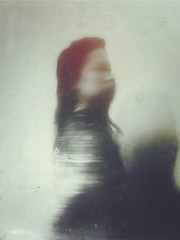 timeless distortions (funkysugar2003) Tags: portrait woman motion poetic faded memory lightandshadow iphone introspection iphoneography femalepsyche