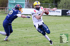 "GFL2 Hildesheim Invaders vs. Assindia Cardinals (Testspiel) 24.04.2015 039.jpg • <a style=""font-size:0.8em;"" href=""http://www.flickr.com/photos/64442770@N03/26674259115/"" target=""_blank"">View on Flickr</a>"