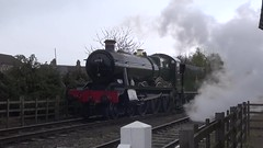 Great Central Railway Loughborough Leicestershire 30th April 2016 (loose_grip_99) Tags: uk railroad england train pig video leicestershire engine rail railway trains steam april locomotive railways loughborough preservation peppa greatcentral 2016 uksteam gassteam
