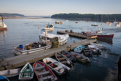 Harbor (robvaughnphoto.com) Tags: landscape boats coast harbor dock scenery maine newengland maritime barharbor rjvtog