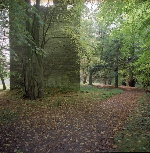 castle remains, exterior