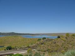 Der See zckt nher und damit das Etappenziel (pilgerbilder) Tags: pilgern pilgerfahrt pilgertagebuch vadellaplata cceresalcntara