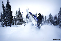 Snowmobiling (Charles Clay) Tags: turbo yamaha sledding viper mccall snowmobiling