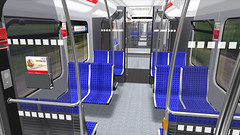 Neue Zge fr die Berliner S-Bahn - Fahrgastraum 1 (metr0p0litain) Tags: train interior transport zug sbahn innenraum rendering nahverkehr transportmittel