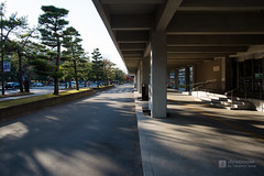 Facade of Nara Prefectural Government Office (奈良県庁舎) (christinayan01) Tags: building japan architecture concrete office postmodern perspective government nara