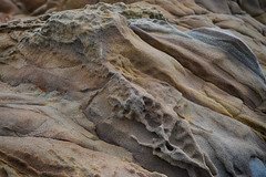 Tafoni (rschnaible) Tags: california usa abstract west texture beach rock stone coast us san outdoor rocky coastal western rough geology mateo rugged tafoni geologic