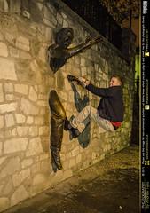 Hang On In There (andrewtijou) Tags: city portrait paris france europe capital fr iledefrance nikond7000 annaszymanska andrewtijou