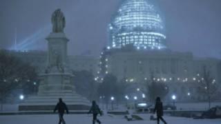 雪暴侵袭美国北部 危及华盛顿特区