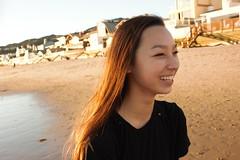 Stoke (Jaron Flynn) Tags: beach happy natural emotion joy naturallight malibu giggle