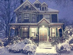 (Kelli Moskal Photographs) Tags: house architecture queenanne oldhouse paintedlady victorianhouse queenannehouse