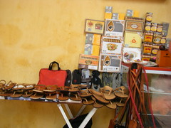 Cigars cigarettes shoes for sale - Cartagena, Columbia (rossendale2016) Tags: home leather eyes shoes long hand sale handmade sandals columbia made nails footwear cigars bags handbags tied thin cigarettes shoulder cartagena straps laces polished sewn laced strapped reins