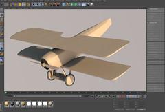 SPADXIII-WIP 15a (StratoArt) Tags: history 3d aircraft aviation military wwi cinema4d warbird biplane warplane spad xiii