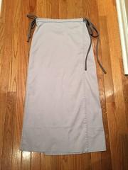 Maxi length wrap skirt (squishythings) Tags: grey sewing skirt handsewing wrapskirt maxiskirt sewingknits