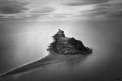 Hacia el horizonte (MerchePortu) Tags: seascape rock mar paisaje salinas roca