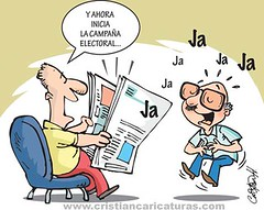 campana elec 2016 (Caricaturascristian) Tags: de la electoral rd partido campaa prm prd jce pld apertura poltico caravanas prsc bandereos patanas