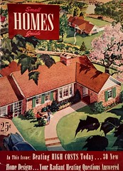 Small Homes Guide (saltycotton) Tags: vintage magazine outdoors gardening ad neighborhood apron advertisement 1940s housewife homeimprovement 1947 smallhomesguide