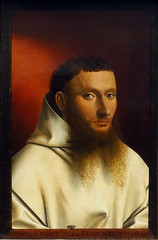 Petrus Christus, Portrait of a Carthusian, 1446