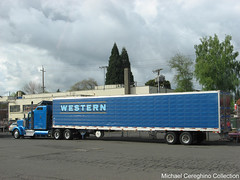 Western Distributing Kenworth W900 (Michael Cereghino (Avsfan118)) Tags: truck w semi corporation transportation western l trans corp 900 trucking reefer kw kenworth distributing w900 wdtc w900l