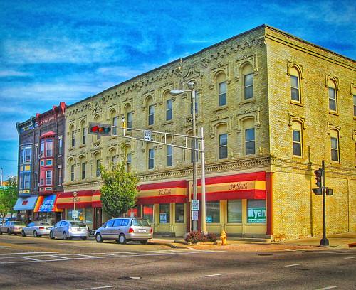 Janesville Wisconsin ~ Fredendall Block ~ McVicar Bros ~ Helms Block