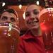 Cerveja local num pub